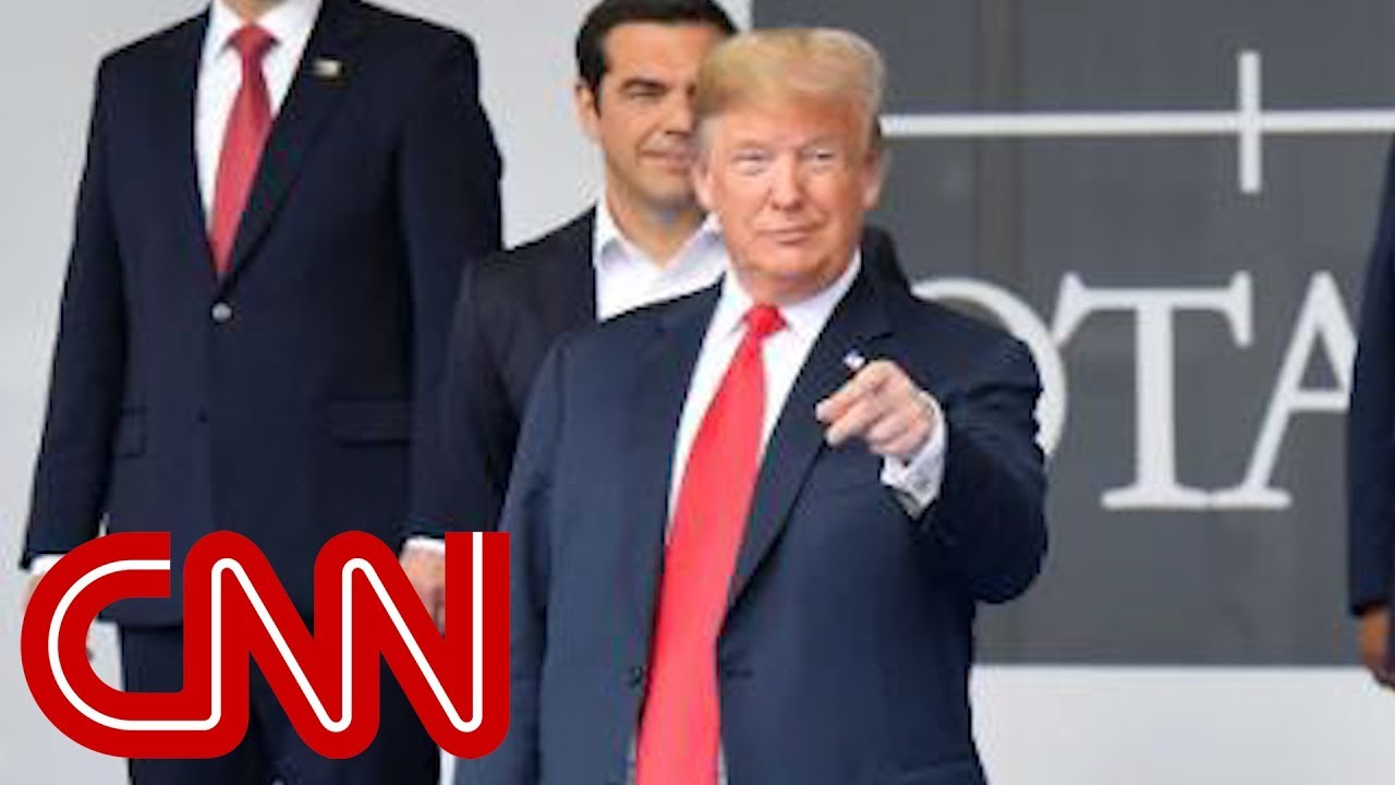 CNN fact-checks Trump's claims about NATO