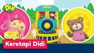 Didi & Friends | Lagu Baru Musim 3 | Keretapi Didi MP3