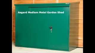 Metal Medium Garden Storage By Asgard