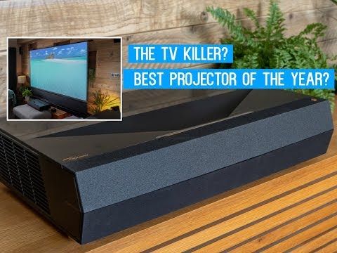NEW 2019 Optoma UHZ65UST / Cinemax P1 Laser 4K Projector is truly Stunning