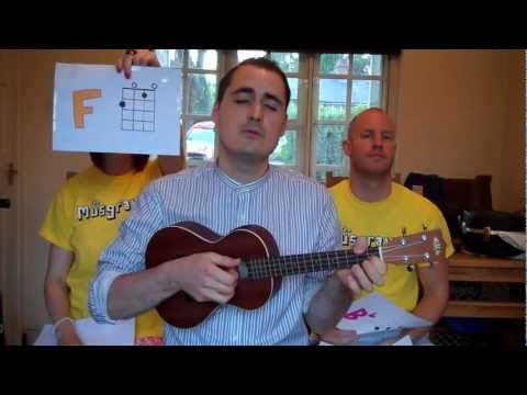 The Musgraves - Coldplay 'Paradise' - ukulele chords tutorial (with blooper!)