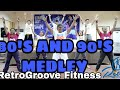 80's And 90's Medley | Retrogroove Fitness | Toots Ensomo | Bayambang, P
