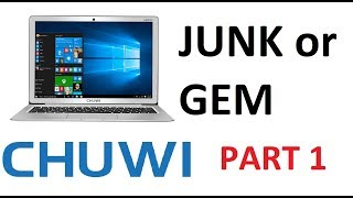 Chuwi 12.3 Lapbook Laptop Review: Cheap but Cheerful? Part 1
