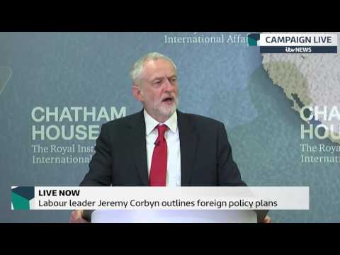 Jeremy Corbyn accepts military action as 'last resort'
