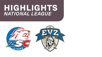 ZSC Lions vs. Zug 4:1 - Highlights National League