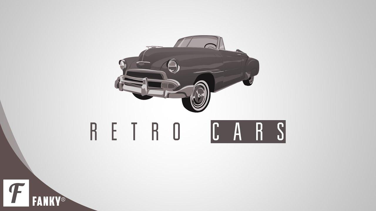 How To Design A Retro Cars Logo In Photoshop CS6/CC - YouTube