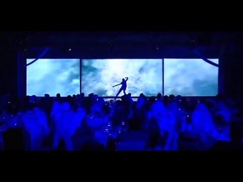 Gabrielle Eychenne - Spectacle de danse interactive et futuriste au Qatar pour Wataniya