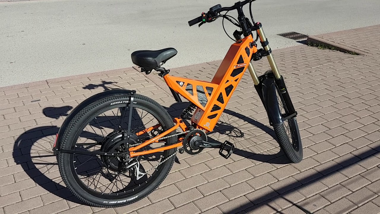 Bicicletta elettrica ROBIKe. Comoda, E-Bike . - YouTube