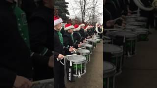 Dakota Marching Band final performance 2016