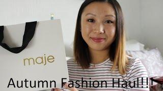 HUGE Autumn Fashion Haul- Maje, Saint Laurent, Topshop  KawaiiBeautyTalk