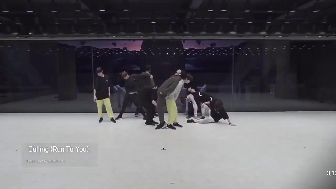 Calling (Run to You) Dance Practice