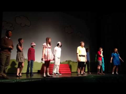 """Happiness"" Your A Good Man Charlie Brown, 2013 Cresset Christian Academy"