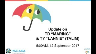 Press Briefing Td Maringph And Ty Lannie Talim September Tuesday 5am