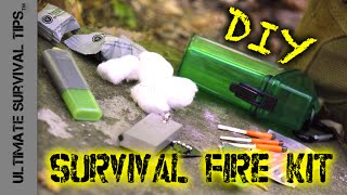 DIY - BEST Survival FIRE Kit - Bug Out / Camping / EDC / Emergencies