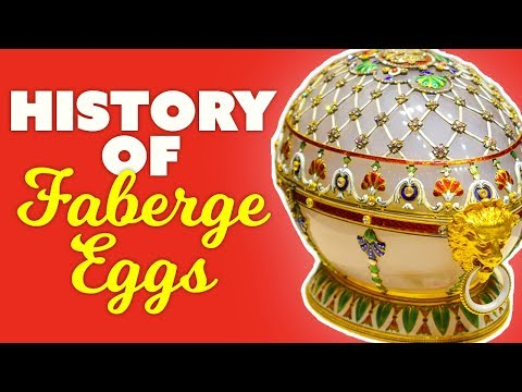 The History Behind Russia's Royal Faberge Eggs