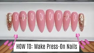 How To: Make Press-On Nails w/ Bling!   WatchCiWork