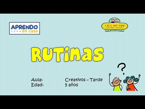 VIERNES 8 DE MAYO RUTINAS-