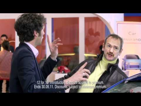 Hoax! - Direct Line car insurance ad - Alexander Armstrong & Chris Addison