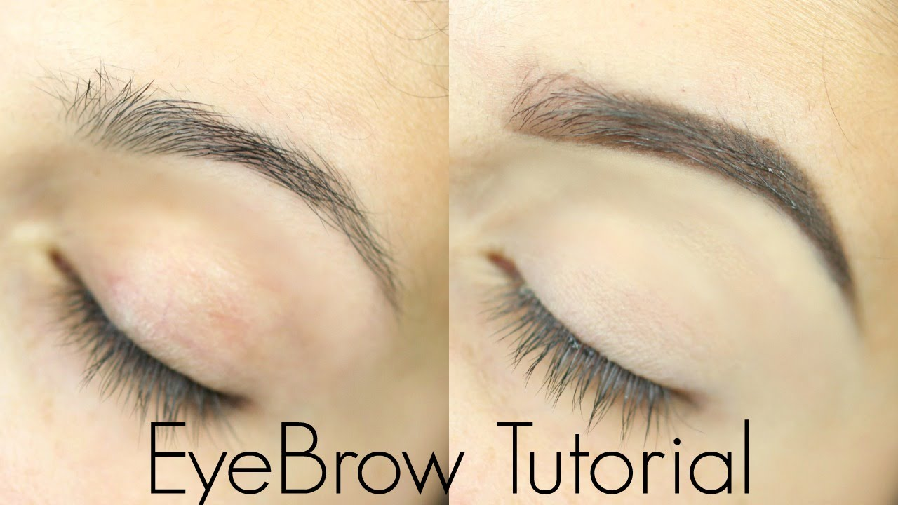 Eyebrow Tutorial For Beginners Youtube