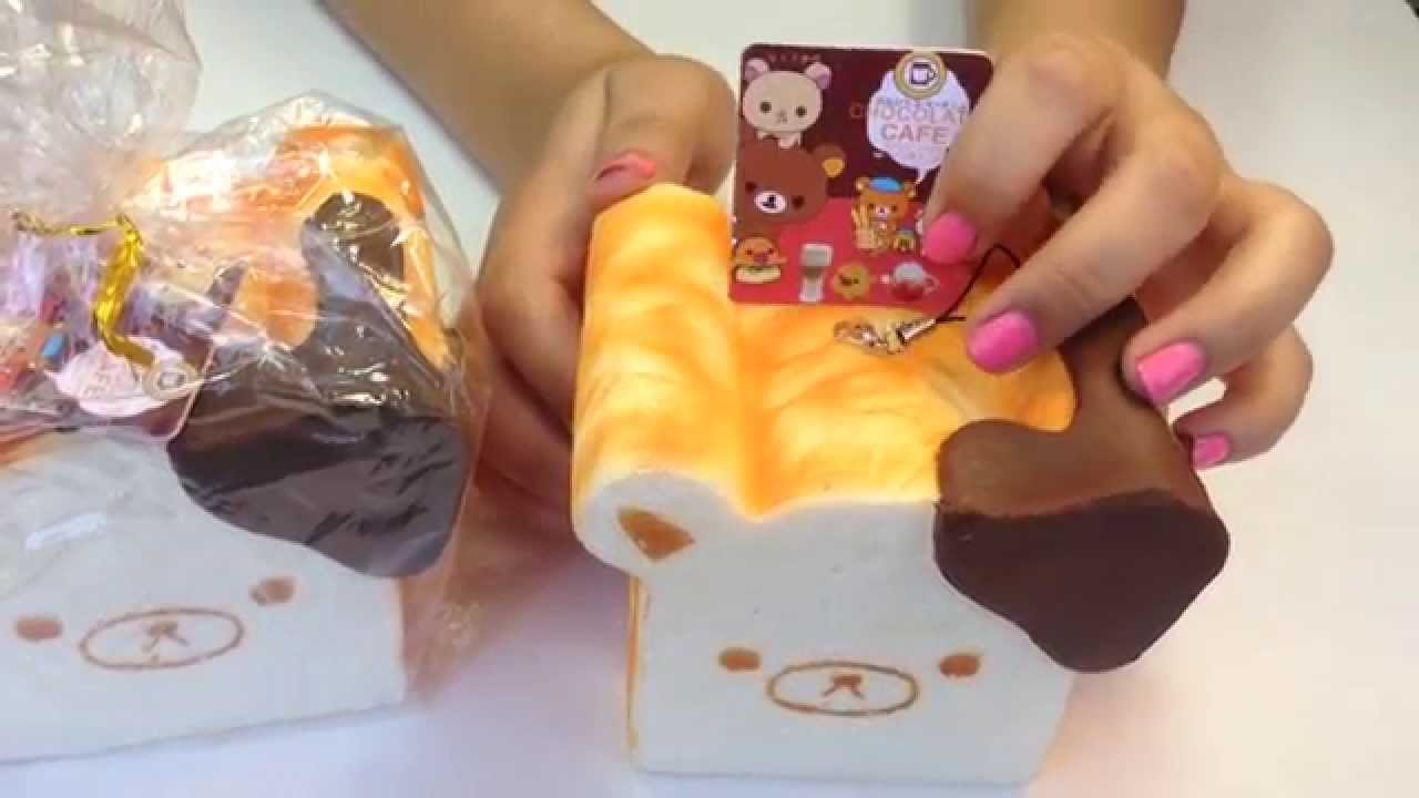 Squishy Loaf Of Bread : Rilakkuma Loaf of Bread Squishy - YouTube