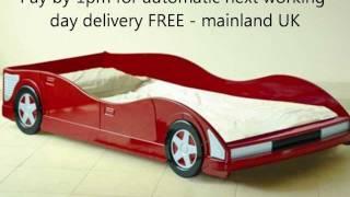 Racing Car Bed Comfy Living