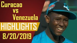 Little League World Series 2019 - Curacao vs Venezuela Highlights | LLWS 2019