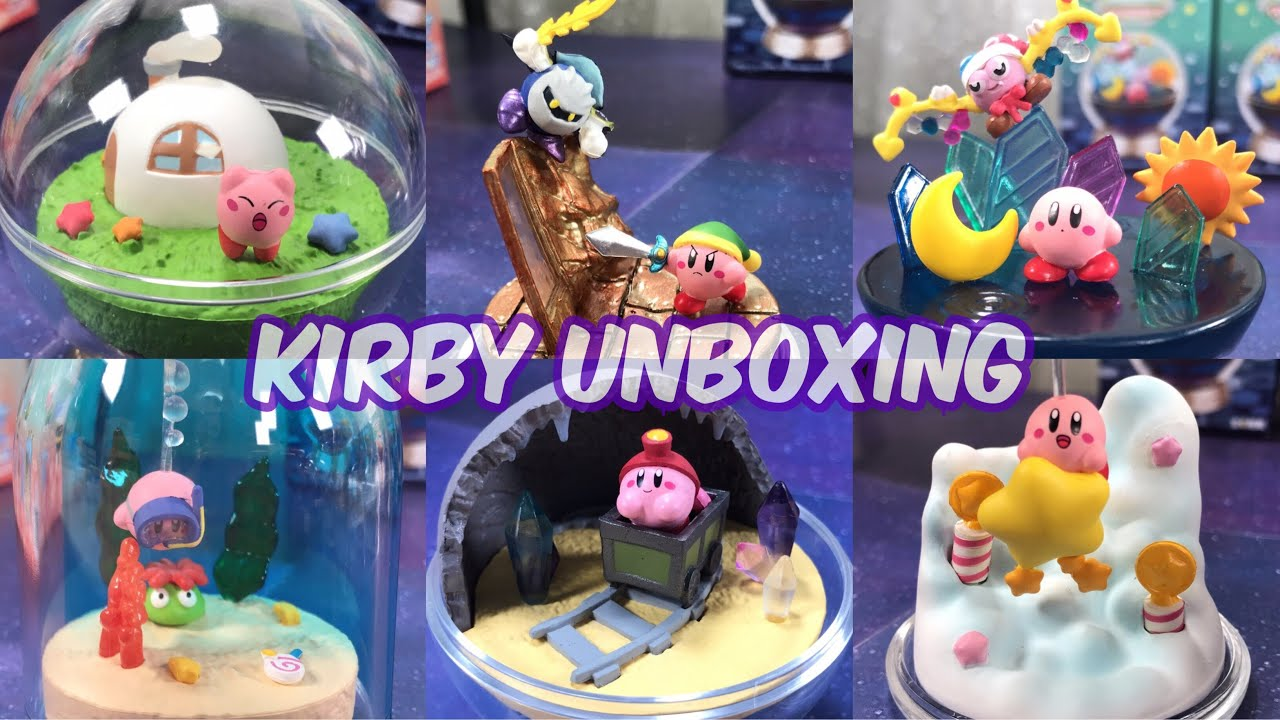 Re-Ment Miniature Stars Kirby Terrarium Collection rement Full set of 6 NEW