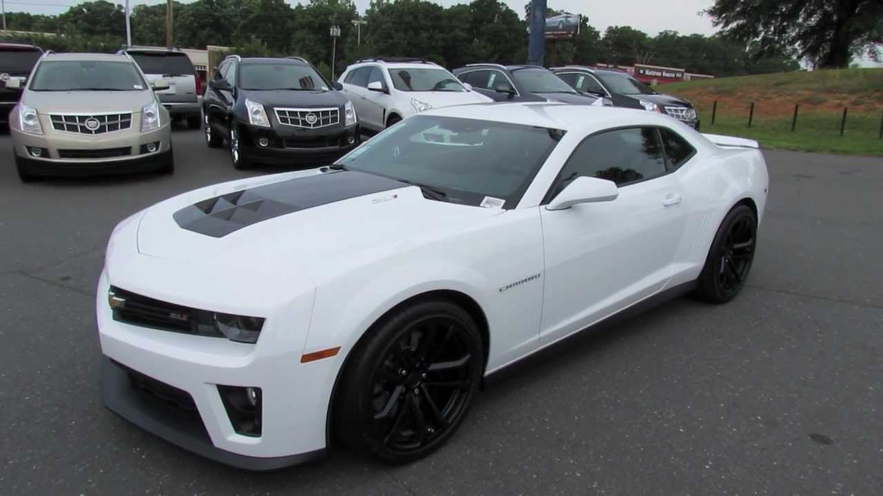2012 chevrolet camaro zl1 start up exhaust and in depth review youtube