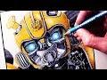 Let's Draw BUMBLEBEE - FAN ART FRIDAY