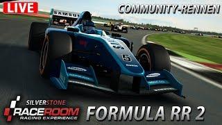 Community-Rennen LIVE   RaceRoom [HD] [GER] Formula RR 2 @ Silverstone GP