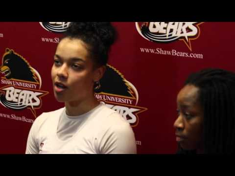 Shaw University Post Game Interviews vs Livingstone College