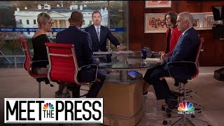 Full Panel: President Trump Clashes With Democrats Over Border Crisis | Meet The Press | NBC News