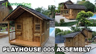 Bamboo Grove Furniture - Cheyenne Playhouse Assembly