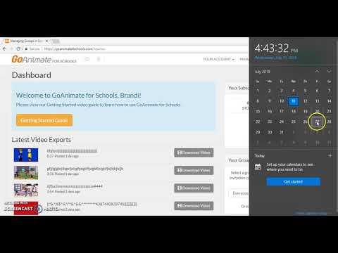 Introducing GoAnimate4Schools Auto-Login! | FunnyCat TV