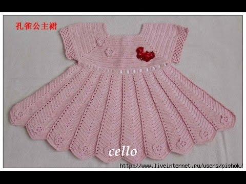 Crochet Patterns For Free Crochet Baby Dress 113 Youtube