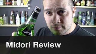 Midori Melon Liqueur Review By Garnishbar - Episode #5