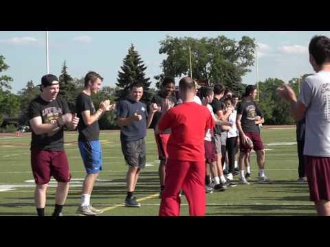Misericordia visits Loyola Academy Football 2017