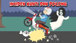 Hockey-Tag#Pocong Lucu#Mulkidi Angst#Funny Cartoon#Lustig-Horror-Episode 7
