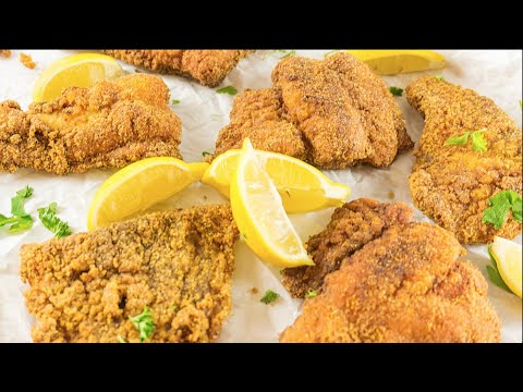 Southern Fried Catfish Recipe | How To Deep Fry Catfish | Let's Eat Cuisine