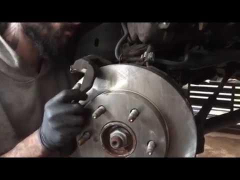 2009 2010 For Cadillac Escalade ESV Rear Brake Rotors and Pads