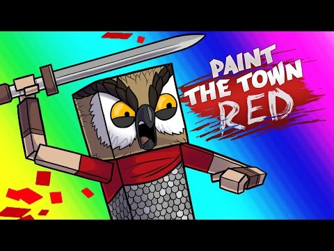 Paint the Town Red Funny Moments - Pirate Gladiator!