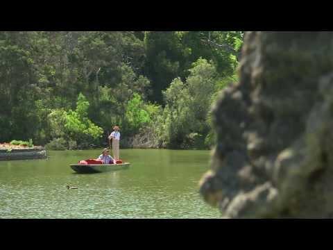 Coxy takes a punt at the Royal Botanic Gardens - Coxy's Big Break