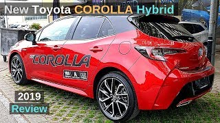 New Toyota COROLLA Hatchback Hybrid  2019 Review Interior Exterior