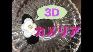 3Dでカメリア!大人ネイルに挑戦.