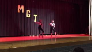 Bailee and Erin. Talent Show. 2017