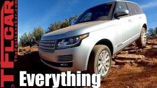 2016 Range Rover Diesel Off-Road Tech Review: Now Zero Off-Road Skill Needed