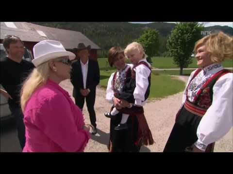 Lynn Anderson visits her relatives in Norway