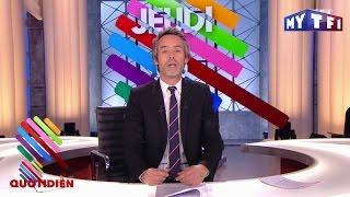 François Hollande dans Danse avec les Stars ! - Quotidien Express du Jeudi 08 Décembre
