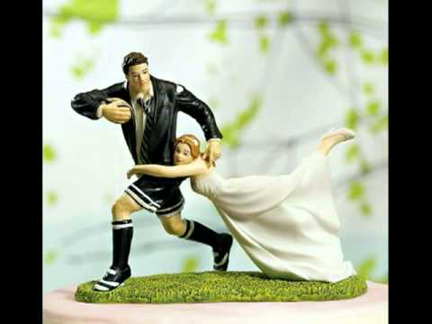 sports-wedding-cake-toppers