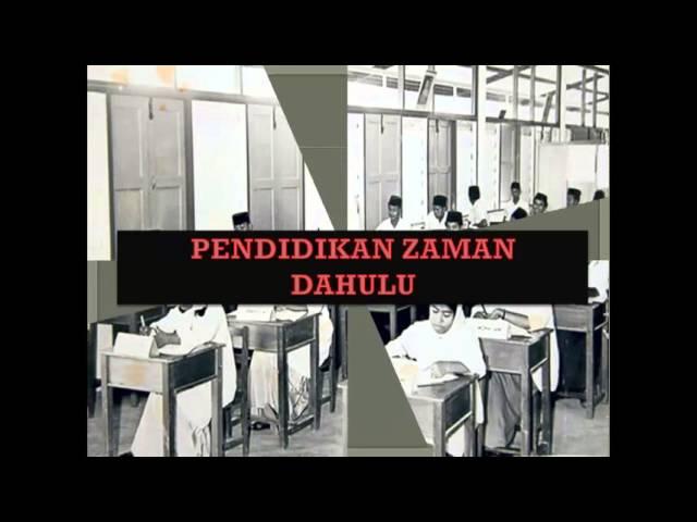 Sejarah Dan Perkembangan Pendidikan Di Malaysia Youtube